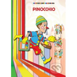 Omalovánka- Pinocchio