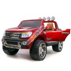 ELCARS elektrické autíčko FORD Ranger Wildtrak LUXURY, lakovaná karosérie, kožená sedačka, EVA kola, Multifunkční dálkové ovládá