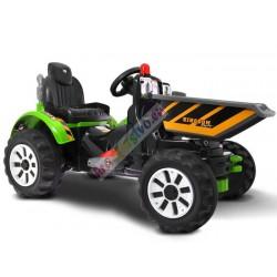 Velký elektrický traktor s...