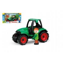 Traktor s figurkou, 17 cm