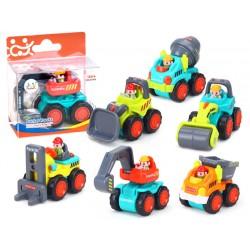Stavební autíčka - 6 modelů, 18m +