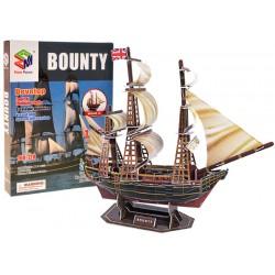3D Puzzle loď Bounty, 125 dílů