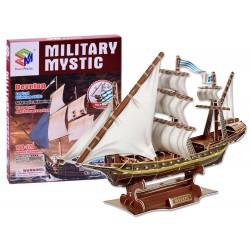 3D Puzzle loď Mystic, 129 dílů
