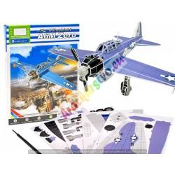 3D puzzle, Veľké vojenské lietadlo