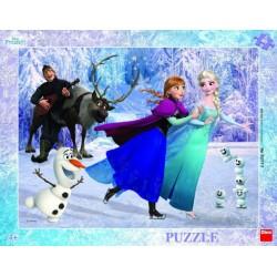 Puzzle - Frozen, 40 dielikov