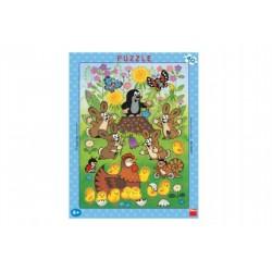 Puzzle - Krtko a Veľká Noc, 40 dielikov