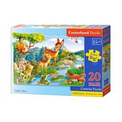 Castorland MAXI 20 Puzzle Malý jeleň