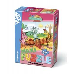 Puzzle MAXI 30, Prehistoric - JUNIOR II