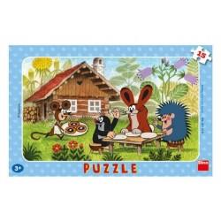 Puzzle Krtko na návšteve 29,5 x 19 cm
