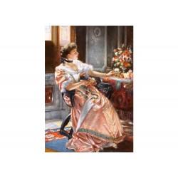 Castorland Puzzle Prvé ruže, W. Czachórski, 1500 dielov