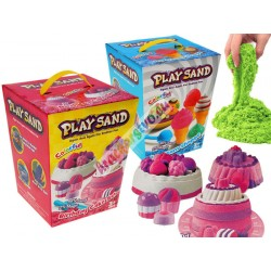 Farebný magický piesok s formičkami, 2 modely