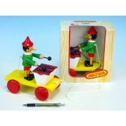 Pinocchio se xylofonem