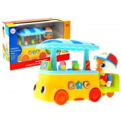 Huile Toys Interaktivní zmrzlinářské auto, 18m +