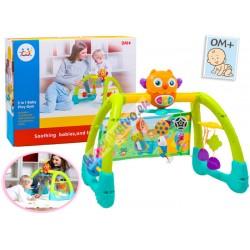 Huile Toys, Interaktivní dětský stojan pro nejmenší 5v1, 0+