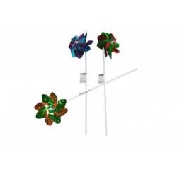 Farebný trblietavý veterník