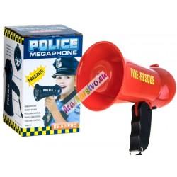Hasičský/policajný megafón