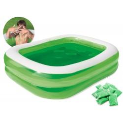 Bestway 54199 SLIME - nafukovací bazén so slizom 2v1, 201 x 150 cm
