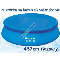 Bestway 58035 prikrývka na nafukovací bazén 457 cm