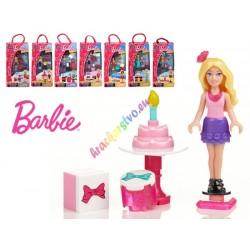MEGA BLOKS, Barbie s příslušenstvím, 3 modely