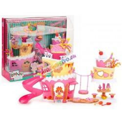 MGA –Lalaloopsy, veľký narodeninový palác s hudbou + mini bábika