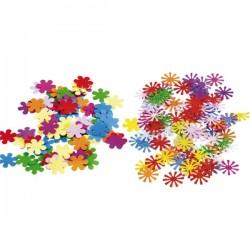 Konfety - barevné květiny, mx, 15g