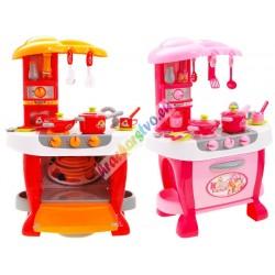 Veľká detská kuchynka s kávovarom, 2 farby
