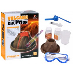 Naučný experimentální set: vybuchující sopka
