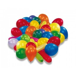 Nafukovací balónky barevné, 20ks