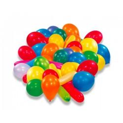 Nafukovací balónky barevné, 50ks
