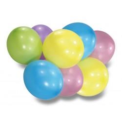 Nafukovací balónky pastelové, 8ks