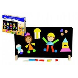 Magnetické puzzle - Deti