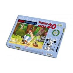 Asterix a Obelix, V lese