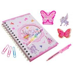 Zápisník PEGAS + pero + príslušenstvo
