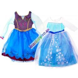 FROZEN kostým - šaty pro Annu nebo Elzu, vhodné 3-6 let