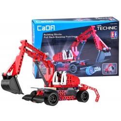 CaDa TECHNIC - technická stavebnice Bager, 235 částí