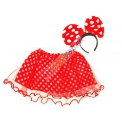 Kostým na maškarní, myška Minnie