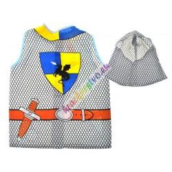Kostým rytíř, vesta + klobouk