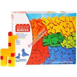 HAPPY BLOCKS - klasické barevné skládačky 325 ks