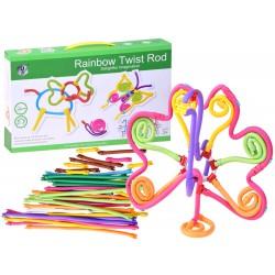 Rainbow Twist Rod - elastická stavebnice