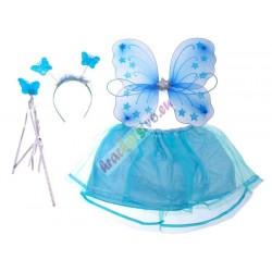 Kostým pro motýla, vílu modrý