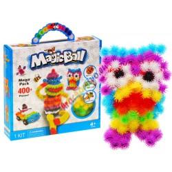 MAGIC BALL - barevné bodliačiky, kreativní stavebnice