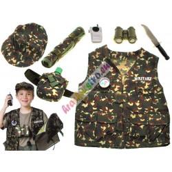 Voják, kostým + vybavení