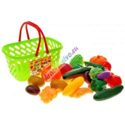 Nákupní košík s ovocem / zeleninou, 2 modely