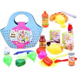 Nákupní košík / taška se zbožím 24v1