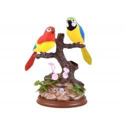 Čvirikajúce Papagáje na strome