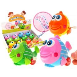 Veselá nakrúcacia rybička, 3 farby