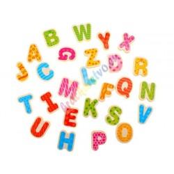 Drevené puzzle Abeceda