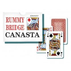 Hrací karty Canasta v papírové krabičce