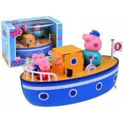 Peppa Pig figúrky a loď