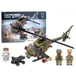 Stavebnica vojenský vrtuľník
